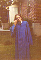 Keith, the graduate, June 3, 1976