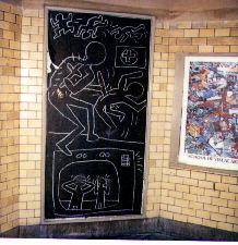 Subway Drawing, Dec. 18, 1981